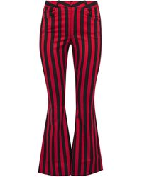 Marques'Almeida Casual Trousers - Red