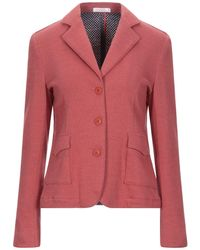Sun 68 Suit Jacket - Pink