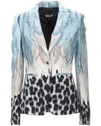 Just Cavalli Suit Jacket - Blue