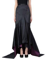 Zac Posen Long Skirt - Blue