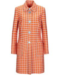 L'Autre Chose Overcoat - Orange