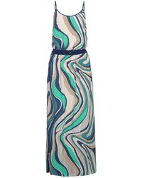 EMMA & GAIA Long Dress - Blue