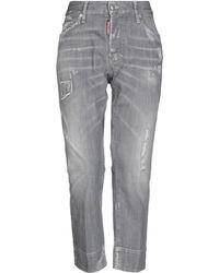 DSquared² Denim Trousers - Grey