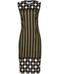 Jonathan Saunders Knee-length Dress - Green