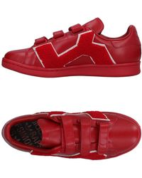 adidas By Raf Simons Comfort Badge Trainers - Red