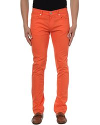 Dirk Bikkembergs Pantalon - Orange