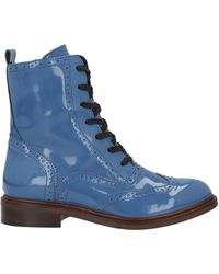 Niu Ankle Boots - Blue