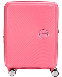 American Tourister Valise à roulettes - Rose