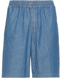 A.P.C. Short en jean - Bleu