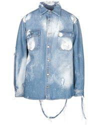 424 Capospalla jeans - Blu