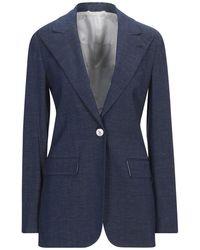 Kiton Suit Jacket - Blue