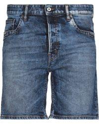 Just Cavalli Short en jean - Bleu