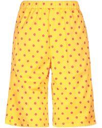 TRUE NYC Shorts & Bermuda Shorts - Yellow