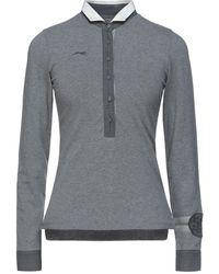 Etiqueta Negra Poloshirt - Grau