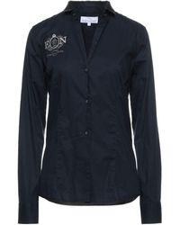 Etiqueta Negra Hemd - Blau