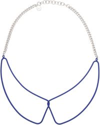 Marc By Marc Jacobs Necklace - Blue