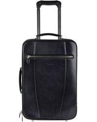 Santoni Wheeled luggage - Blue