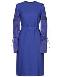 Maison Margiela Knee-length Dress - Blue