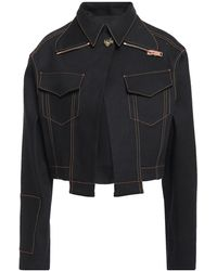 Proenza Schouler Denim Outerwear - Black