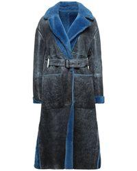 Vintage De Luxe Cappotto - Blu