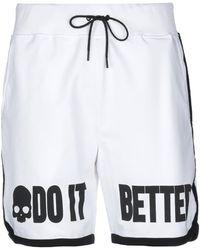 Hydrogen Bermuda Shorts - White