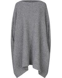 Sartorial Monk Knielanges Kleid - Grau