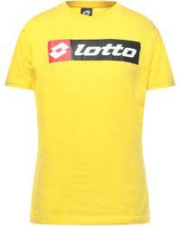 Lotto Leggenda Camiseta - Amarillo