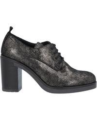 CafeNoir Lace-up Shoe - Black