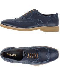 Pollini Stringate - Blu