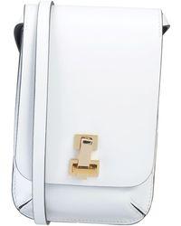 the VOLON Cross-body Bag - White