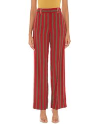 Maliparmi Casual Trousers - Red