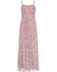 Vila Langes Kleid - Pink