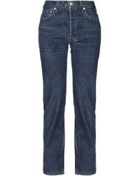 Vetements Pantaloni jeans - Blu