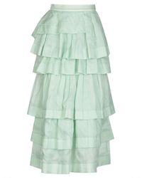 Ermanno Scervino Long Skirt - Green