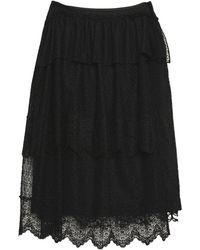 Simone Rocha Midi Skirt - Black