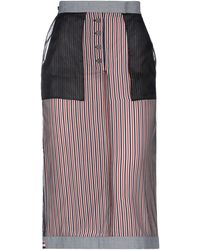 Thom Browne 3/4 Length Skirt - Black