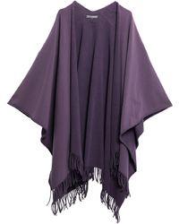 European Culture Capes & Ponchos - Purple