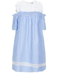 Brigitte Bardot Short Dress - Blue