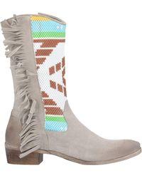 Divine Follie Knee Boots - Multicolour