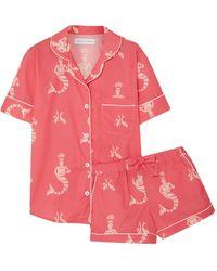 Desmond & Dempsey Pijama - Rosa