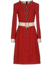 Dolce & Gabbana Vestito al ginocchio - Rosso