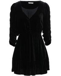 Mes Demoiselles Short Dress - Black