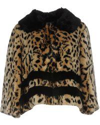 Trussardi Teddy Coat - Multicolour