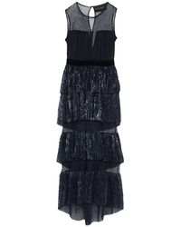 Christian Pellizzari Long Dress - Blue