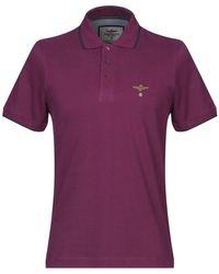 Aeronautica Militare Polo Shirt - Purple