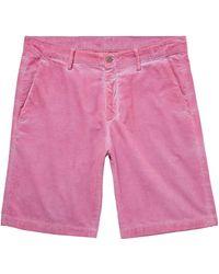 Massimo Alba Bermuda Shorts - Purple