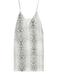 Haute Hippie Short Dress - White