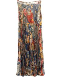 Dundas Long Skirt - Multicolor