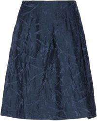 Giorgio Armani Midi Skirt - Blue