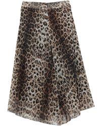 CafeNoir Midi Skirt - Black